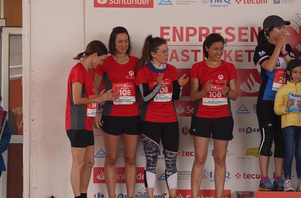 Entrega de trofeos Carrera de Empresas Bilbao 2019