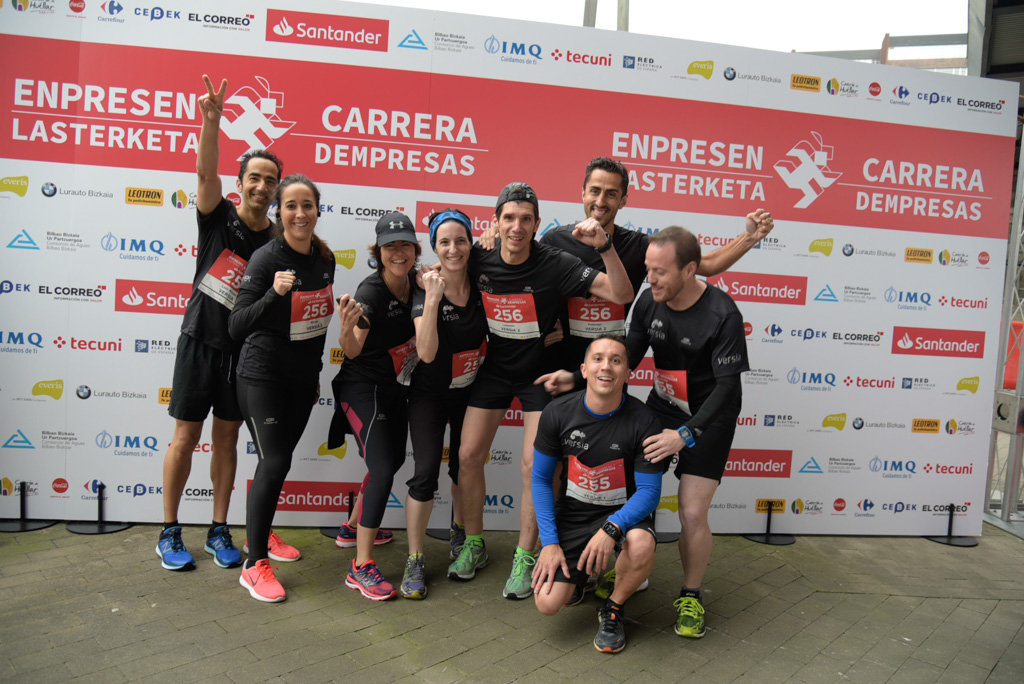 Fotos de la carrera familiar de empresas Bilbao 2019