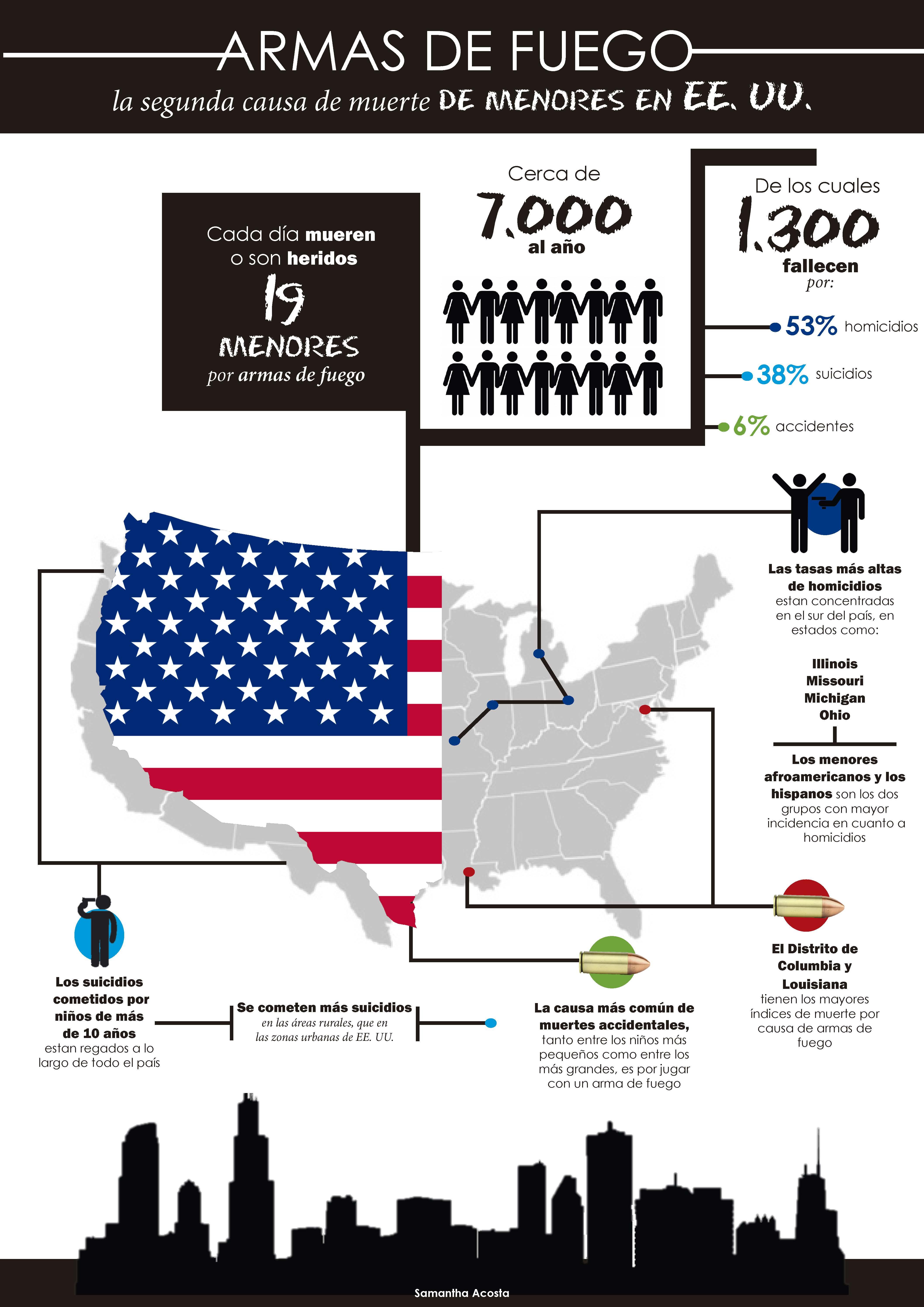 Infografía: Armas en EEUU