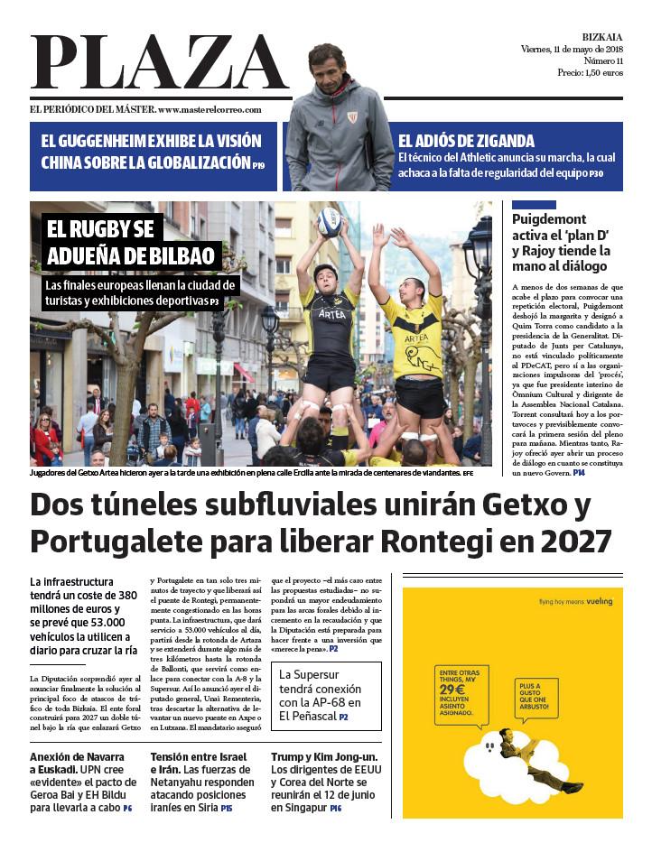 Periódico Plaza 11-5-2018