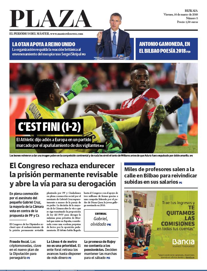 Periódico Plaza 16-3-2018