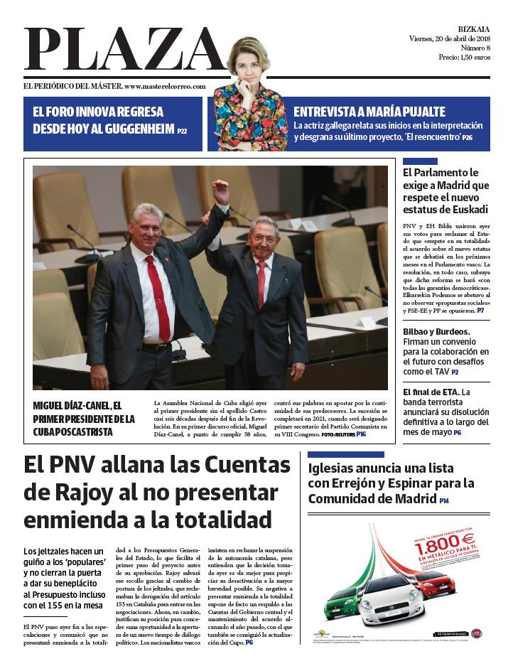 Periódico Plaza 20-4-2018