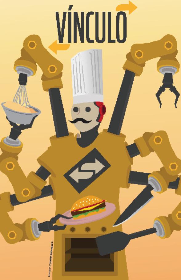Número 1 de la revista Vínculo : Comida y Tecnología