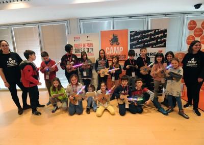 TALLER INFANTIL GIRLS & TECH 2018, CONSTRUYE UNA GUITARRA ELÉCTRICA CON TOKY MAKER
