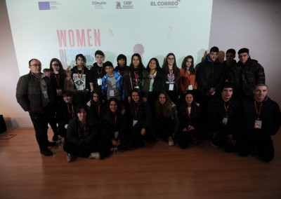 Fotos de las ponencias y mesas redondas Women In Progress 2018