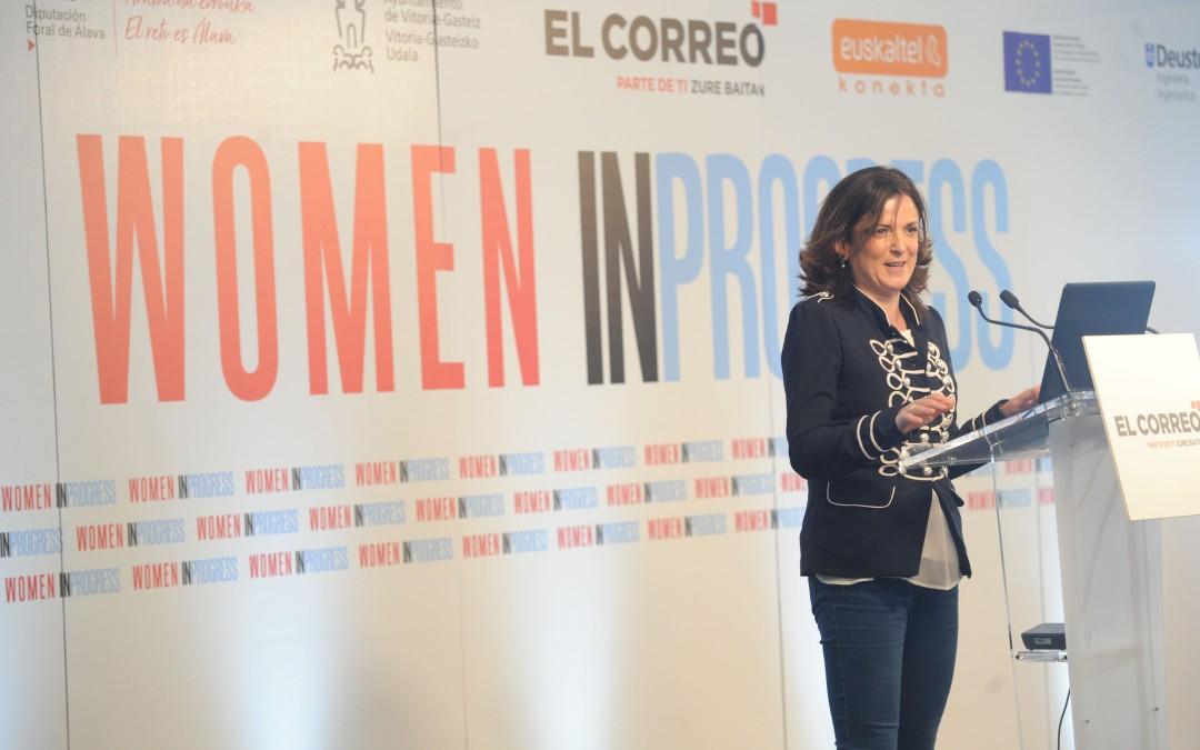 Artolazabal: «Chicas, no os autoexcluyáis de las carreras encaminadas al ámbito científico e industrial