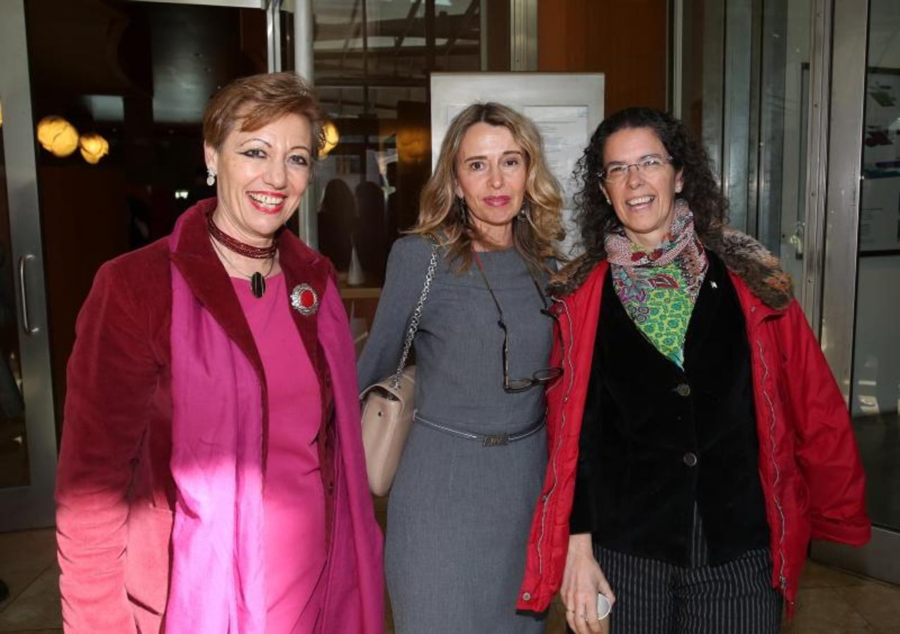 Cristina Mendia, Cristina Giménez y Beatriz Marcos.