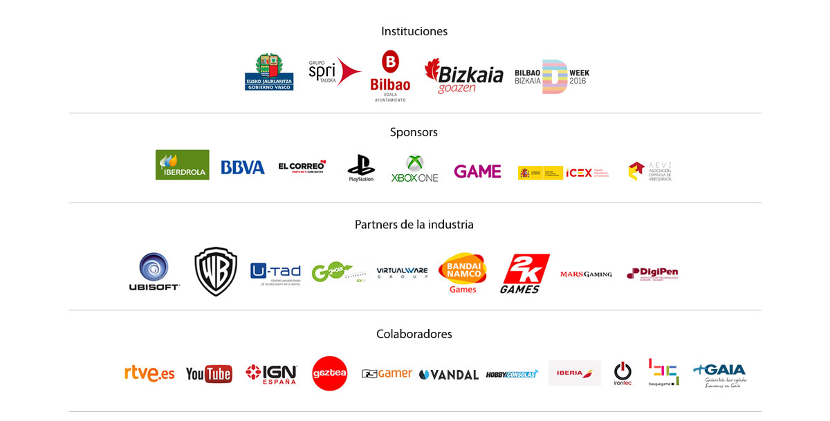 Patrocinadores y partners