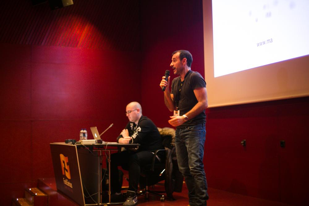 Taller de doblaje con Claudio Serrano