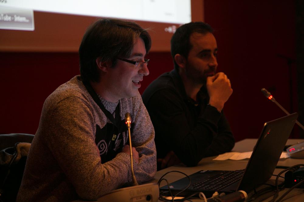 Taller de Youtube con Rubén Ontiveros y Borja Pérez