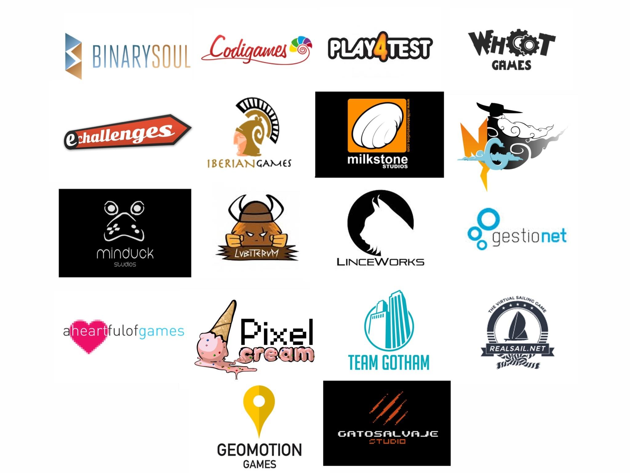 Empresas y estudios presentes en la Euskaltel Expo Industry Zone