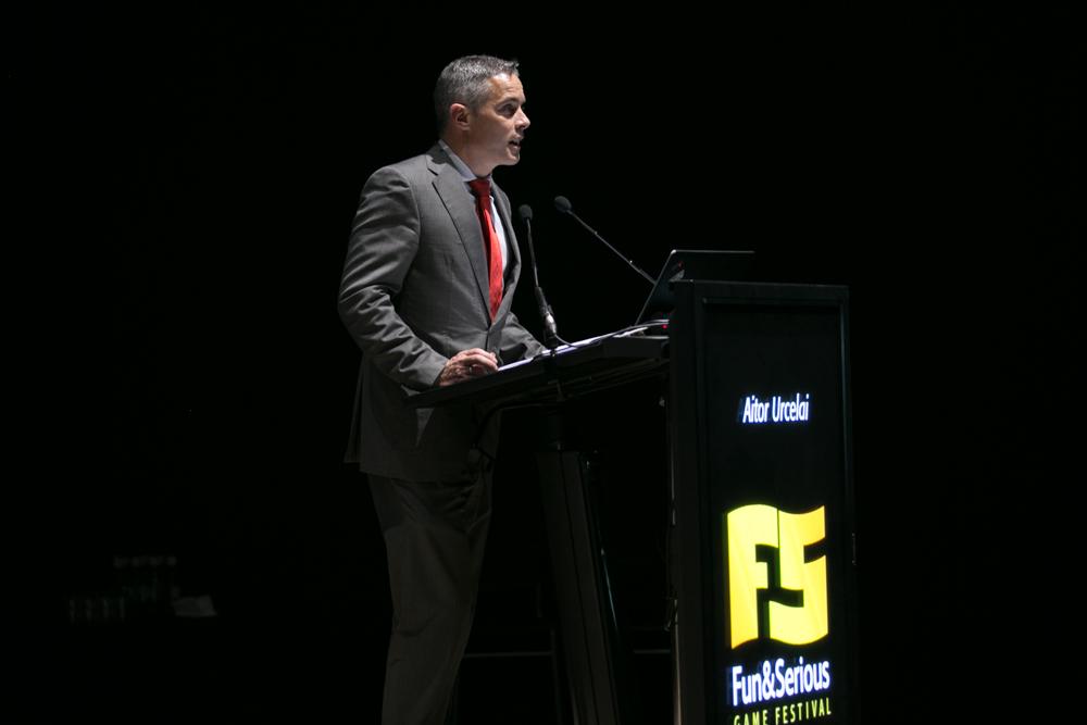 Aitor Urcelai, director de Emprendimiento, Innovación, Sociedad de Información del Gobierno vasco