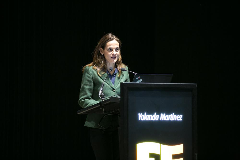 Yolanda Martínez, directora comercial de la Dirección Territorial Norte de BBVA