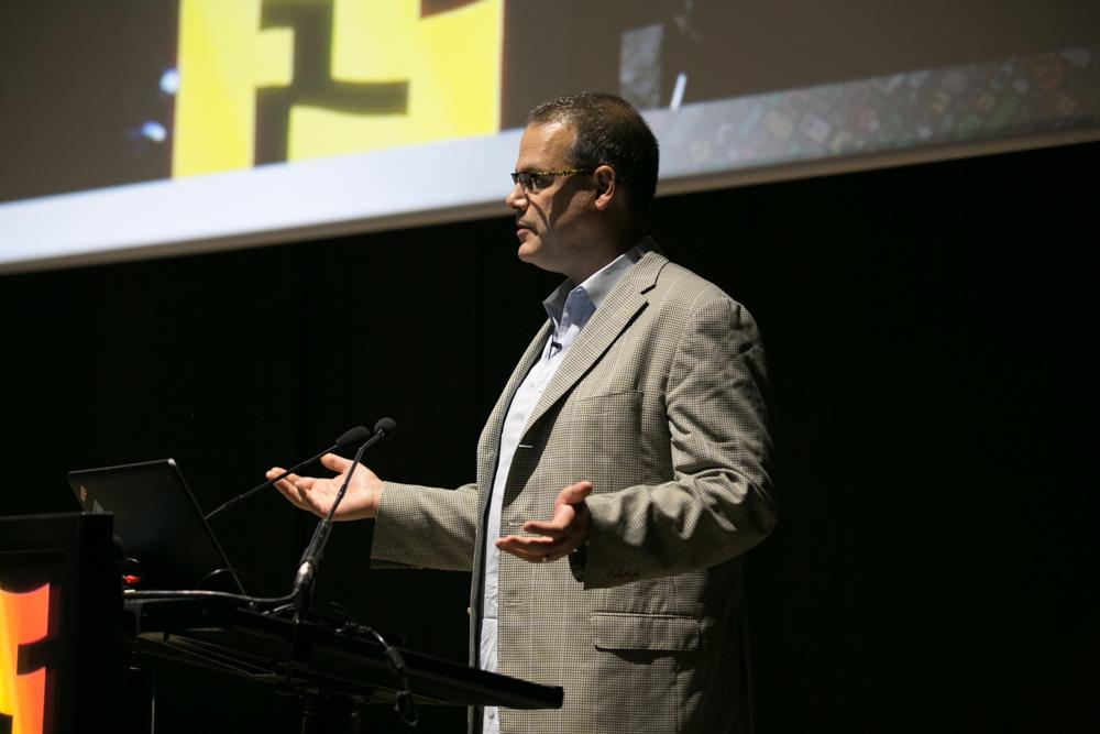 Ray Muzyka, Co-fundador de BioWare, Business Angel y consultor, en el Iberdrola Talent Day