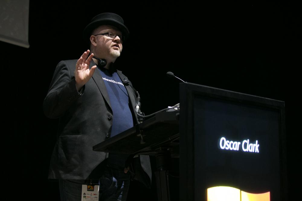 Oscar Clark, Consultor y evangelizador de Everyplay en Unity Technologies, en el Iberdrola Talent Day