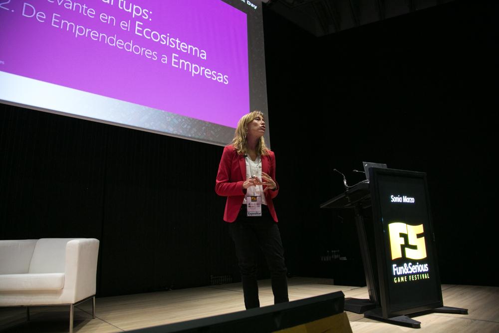 Sonia Marzo, de Microsoft Ventures, en el Iberdrola Talent Day