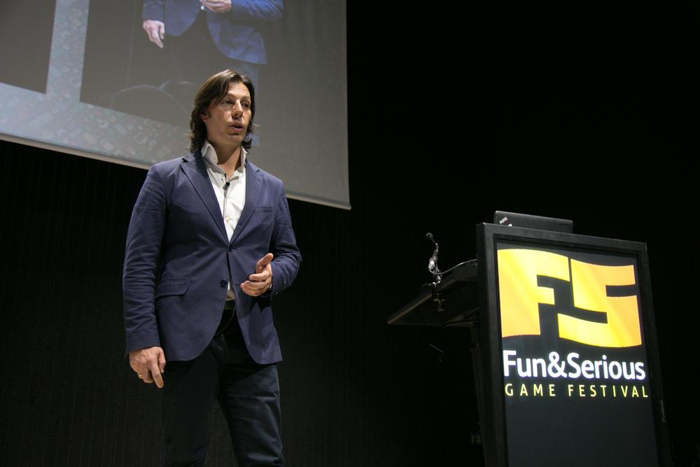 Fernando Prieto, Socio de Gato Salvaje y Fundador de Start Your Business International Consulting, en el Iberdrola Talent Day