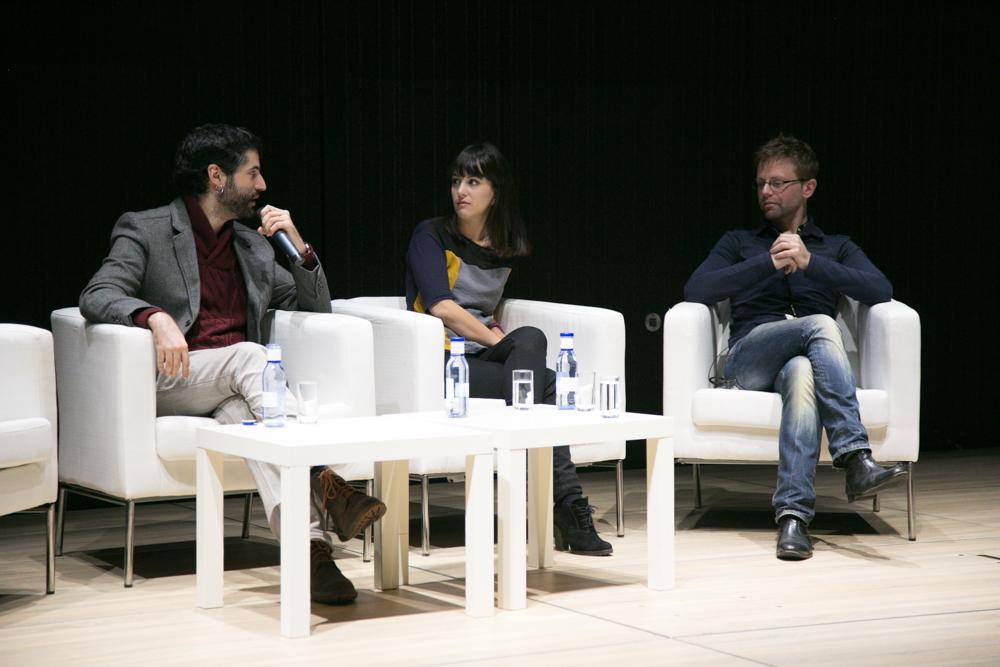 Antonio Santo, Gina Tost y José Herráez en el Iberdrola Talent Day