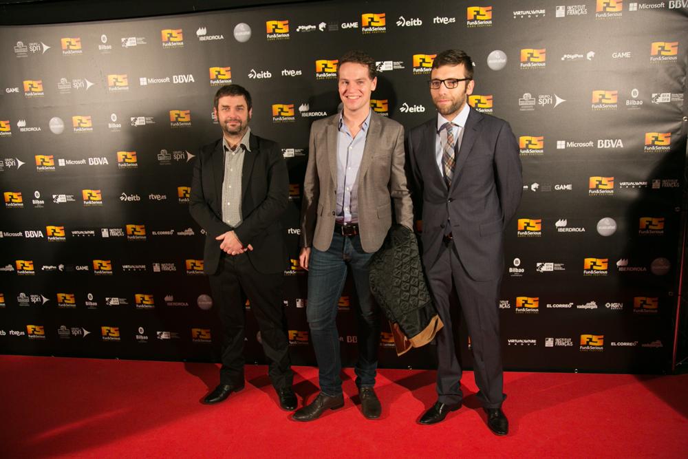 Alfombra roja de la Gala de Entrega de premios a los Mejores Videojuegos 2014, celebrada en Bilbao
