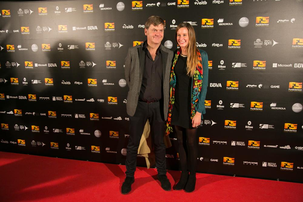 Alfombra roja de la Gala de Entrega de premios a los Mejores Videojeugos 2014, celebrada en Bilbao