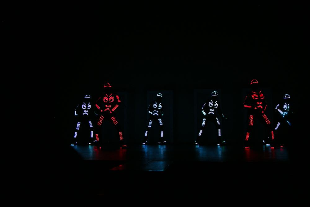 Una de las actuaciones de la Gala de entrega de premios a los Mejores Videojuegos 2014