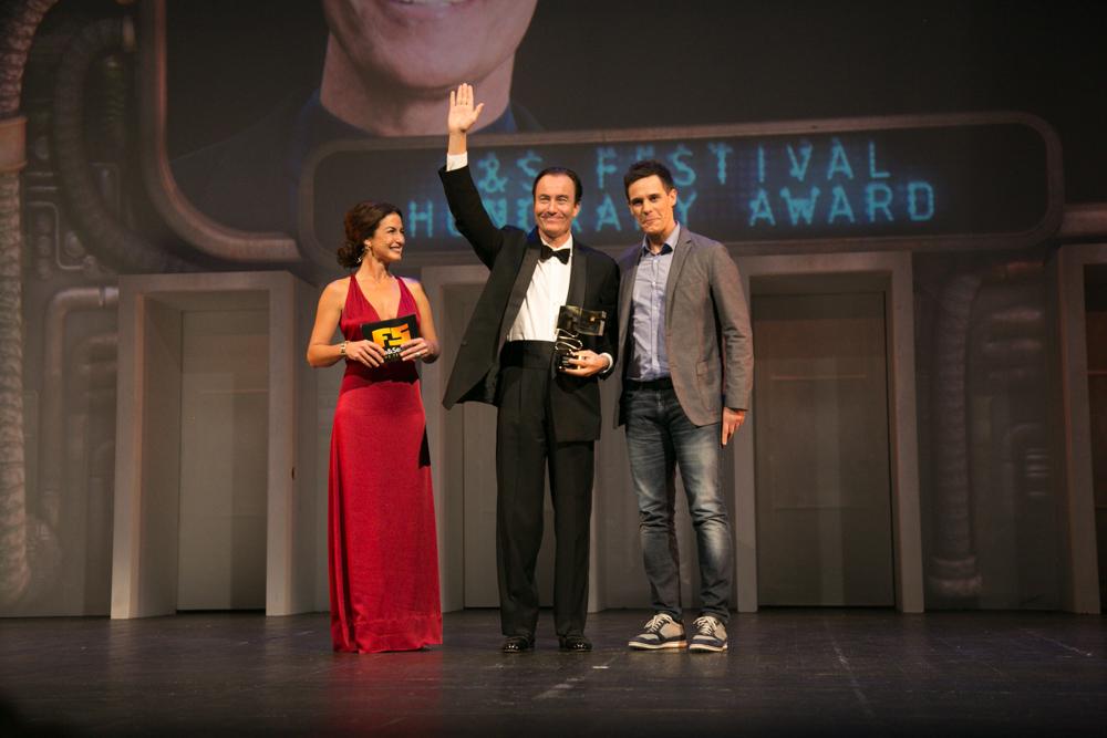 Premio honorífico Trip Hawkins. El fundador de Electronic Arts protagonizó el momento emotivo de la noche.