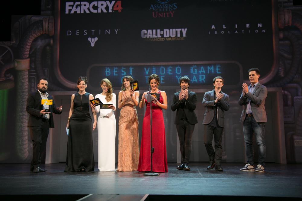 Gala de entrega de premios a los Mejores Videojuegos 2014