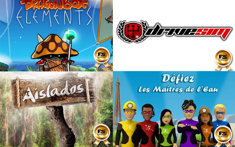 Aislados, Dragonbox Ele-ments, DriveSim y Les Maitres de L'Eau elegidos mejores se-rious games de 2014