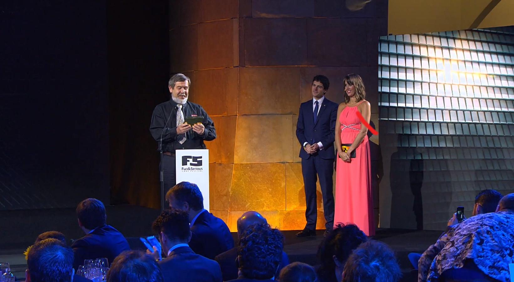 Vídeo de la entrega del Premio Bizkaia 2015 a Alexey Pajitnov