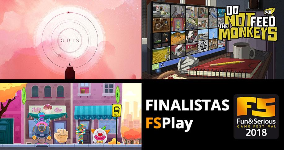 Los juegos finalistas a los FSPlay y los mejores títulos vascos se batirán por su premio el próximo 9 de diciembre