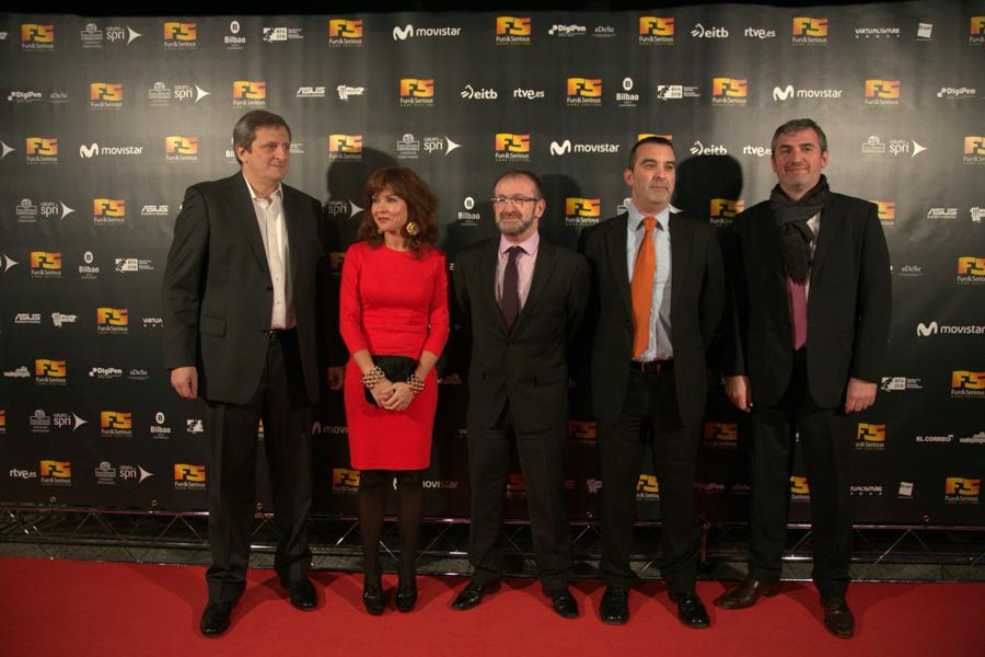 Alberto González, María Goti, Antonio Temprano, Fransec Armengol, Óscar del Moral
