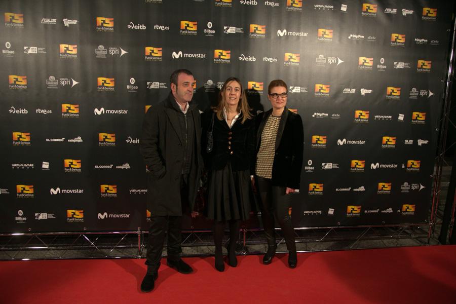 Igor Arrien, Nora Sarasola, Natalia Suárez