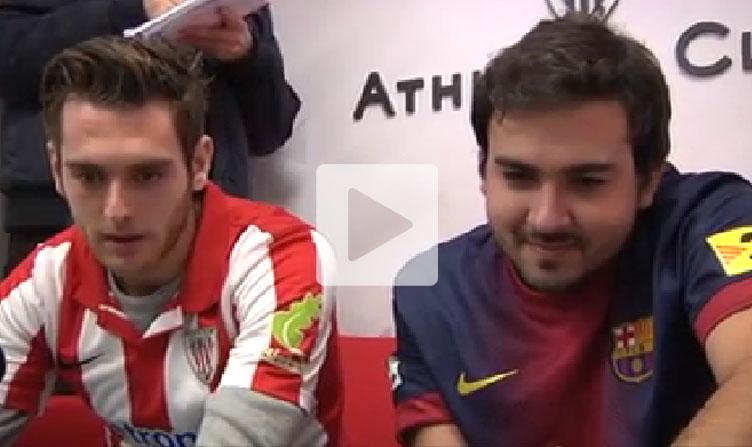 Ibai Gómez y Alfonso Ramos 'Herzex' se la jugaron al FIFA 14