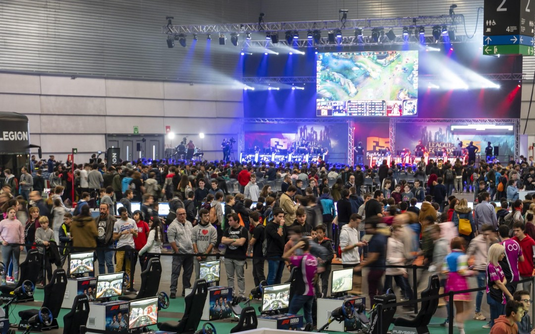 The videogame event, the Fun & Serious Game Festival,  returns to BEC