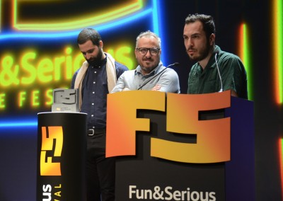 Fun and Serious Game Festival 2019 Premios Titanium lunes tarde (58)